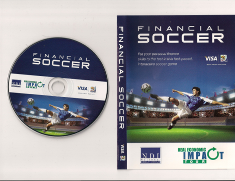 "Visa-Nation Disability Institute's Real Economic Impact Tour Co-Branded ""Financial Soccer"" DVD"